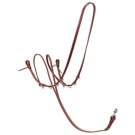 Weaver Leather Working Tack Roper/Barrel Style German Martingale