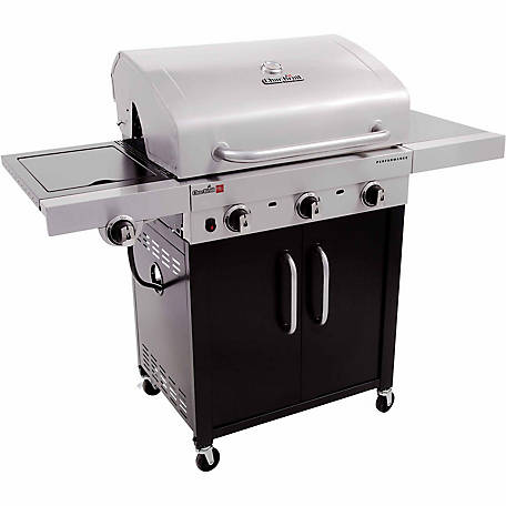 Char-Broil Performance TRU-Infrared 3-Burner Cabinet 24,000 BTU Gas Grill