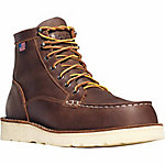 Danner Men's Bull Run Moc Toe 6 in. Brown ST Boot