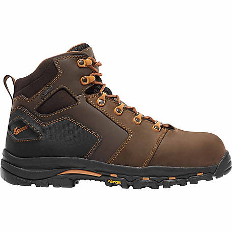 5e3f8ce2dc4 Danner Men's Vicious 4.5 in. Brown/Orange NMT Boot at Tractor Supply Co.