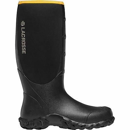 6ca8b5c8fee LaCrosse Footwear Men's Alpha Lite 16 in. Black Rubber Boot at Tractor  Supply Co.