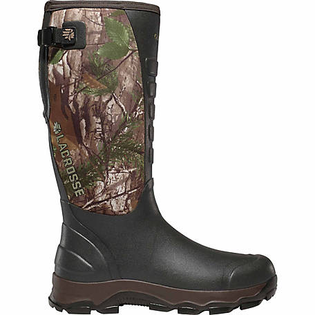 LaCrosse Footwear Men's 4xAlpha 16 in. Realtree Xtra Green Rubber Boot