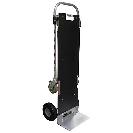 Magliner Gemini XL Convertible Hand Truck, U-Loop Handle, 10 in. Polyurethane Wheels, 500 lb./1250 lb. Capacity.