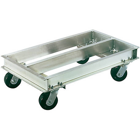 Magliner 24 in. x 42 in. Aluminum Dolly, 2000 lb. Capacity