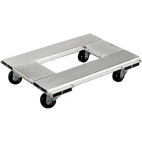 Magliner 18 in. x 24 in. Aluminum Dolly, 900 lb. Capacity