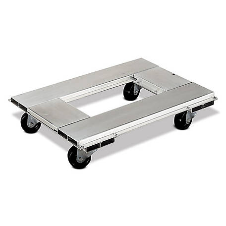 Magliner 21 in. x 30 in. Aluminum Dolly, 900 lb. Capacity