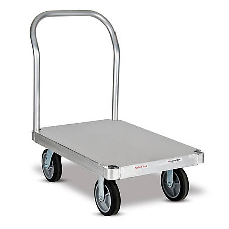 Magliner Platform Truck with 24 in. x 36 in. Smooth Deck, One Handle, 2,800 lb. Capacity