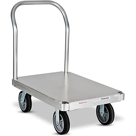 Magliner Platform Truck with 24 in. x 48 in. Smooth Deck, One Handle, 2,800 lb. Capacity