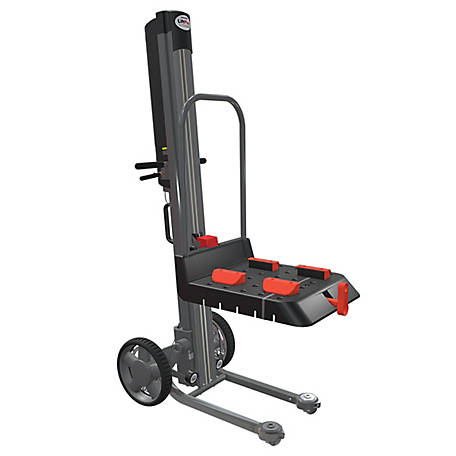 Magliner LiftPlus, 60 in. Lift Height, 14 in. Chassis with Adjustable Work Bench, 350 lb. Capacity