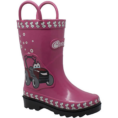 Case IH Kids' 3D Fern Farmall Tractor Rain Boot