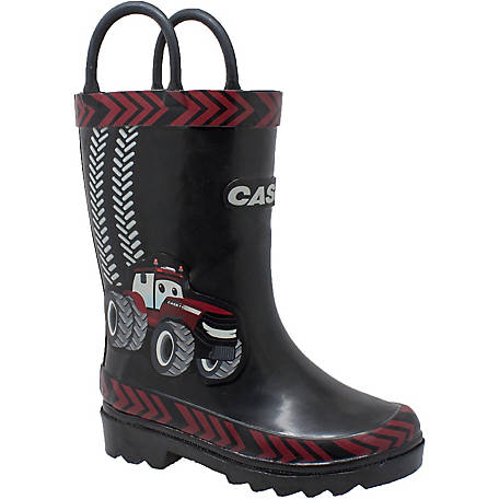 Case IH Toddler's 3D Big Red Tractor Rain Boot