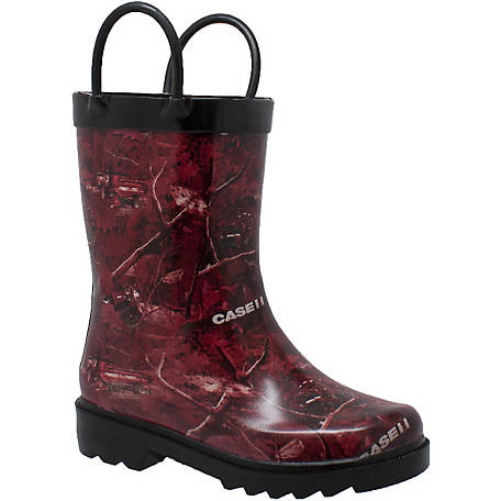 Case IH Toddler's Camo Rain Boot
