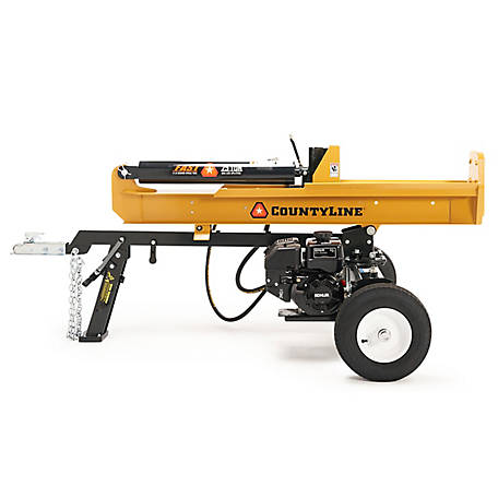 CountyLine CountyLine-25 Ton Log Splitter with Kohler SH265 6.5HP Engine, 126151799