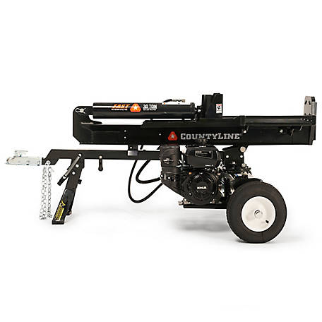 CountyLine-30 Ton Log Splitter, Kohler Command Pro CH395 9.5HP Engine, 126151899