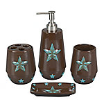 HiEnd Accents 4-Piece Star Bathroom Set