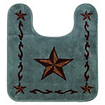 HiEnd Accents Contour Star Bath Rug