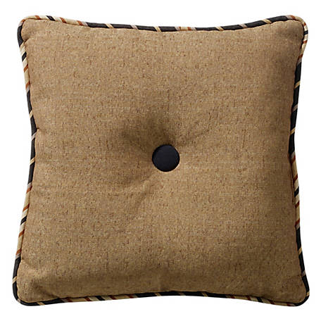 HiEnd Accents Tufted Pillow, 18 in. x 18 in.