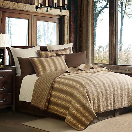 HiEnd Accents 3-Piece Hill Country Quilt Set