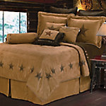 HiEnd Accents Luxury Star Comforter Set