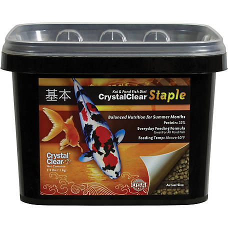CrystalClear Staple, 2.2 lb. Bucket
