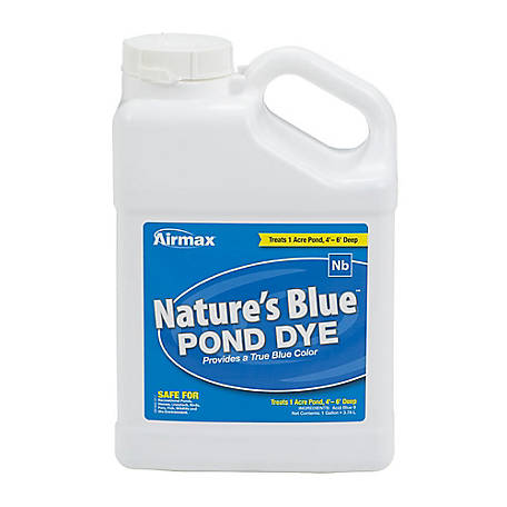 Pond Logic Nature's Blue Pond Dye, Gallon