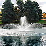 Airmax EcoSeries Floating Fountain, 200 ft. Cord, 3 Patterns and Control Panel