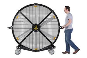 Big Ass Fans Black Jack 6.5 ft. Indoor/Outdoor Mobile Fan at Tractor ...