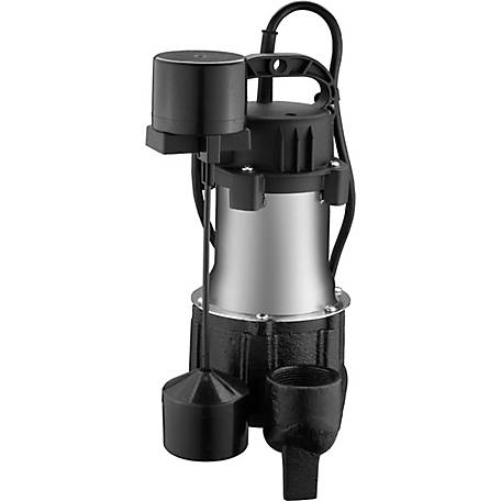 Ez-Flo 1/2 HP Submersible Sump Pump