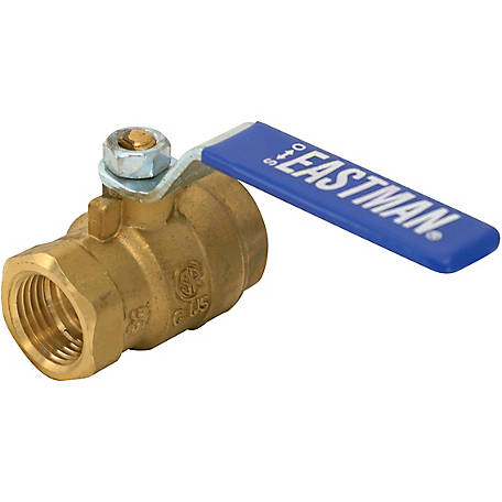 Eastman Heavy-Duty Full Port Ball Valve, 1/4 in. IPS