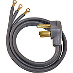 Eastman Electric Dryer Power Cord, 4 ft., 3-Prong, 30A