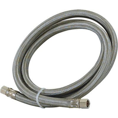 Eastman 5 ft. Stainless Steel Ice Maker Connector