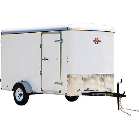 Carry-On Trailer 5 ft. x 10 ft. Enclosed Cargo Trailer, Model #: 5X10CGR