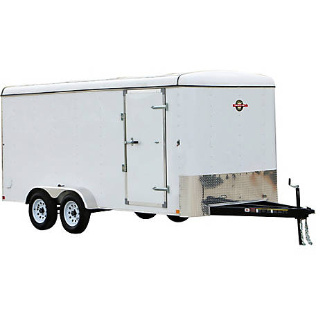 Carry-On Trailer 7 ft. x 16 ft. Enclosed Cargo Trailer, Model #: 7X16CGR