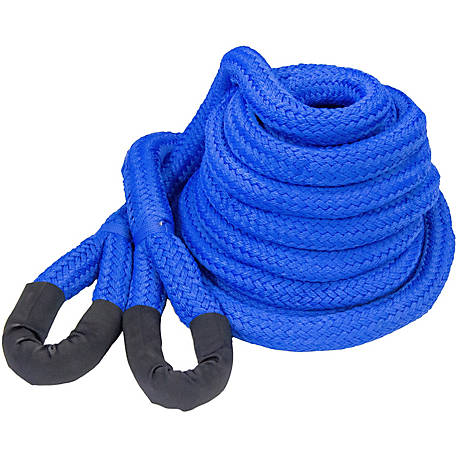 DitchPig Kinetic Vehicle Recovery Rope, 1-1/2 in. x 30 ft., 64,300 lb. Breaking Strength