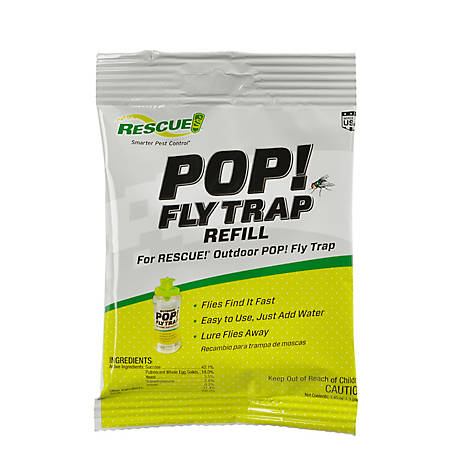 Rescue RESCUE! POP! Fly Trap Attractant, PFTA-DB12