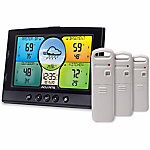 AcuRite Temperature and Humidity Station with 3 Sensors, 100HV