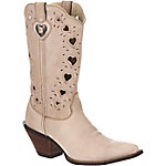 Durango Women's Crush 11 in. Cutout Hearts Cowboy Boot