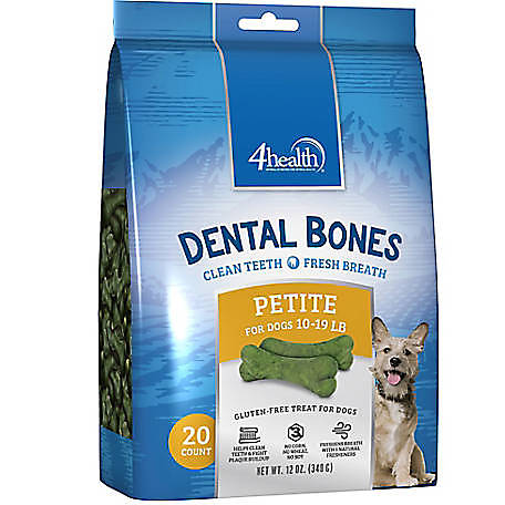 4health Dental Bones for Dogs, 12 oz.