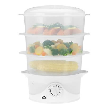 Kalorik 3-Tier Food Steamer, DG 33761