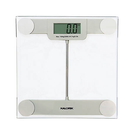 Kalorik Precision Digital Glass Bathroom Scale, EBS 39693