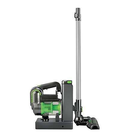 Kalorik 2-in-1 Cordless Cyclonic Vacuum Cleaner, Green/Silver, VC 42475 L