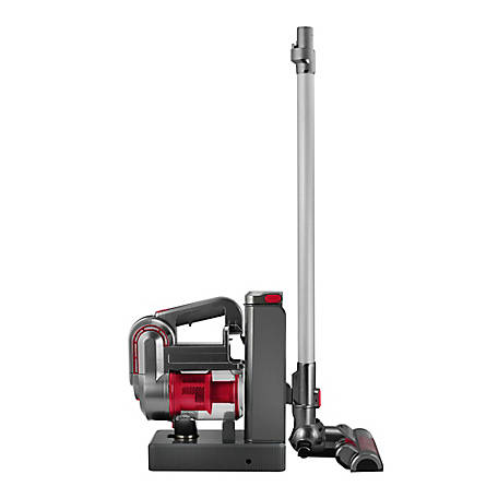 Kalorik 2-in-1 Cordless Cyclonic Vacuum Cleaner, Red/Silver, VC 42475 R