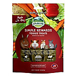 Oxbow Animal Health Simple Rewards Veggie Treat