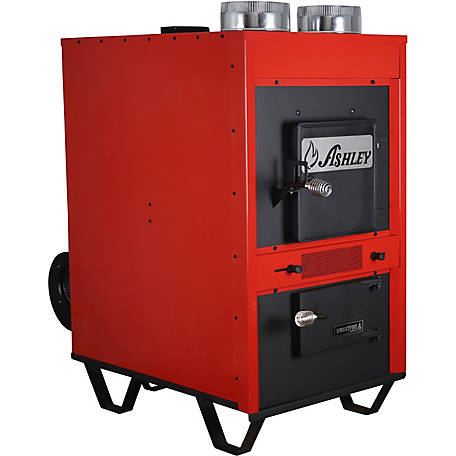 Ashley Clayton 3 000 Sq Ft Epa Certified Wood Burning Warm Air Furnace 1660e At Tractor Supply Co