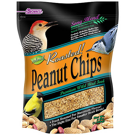 Brown's Song Blend Roasted Peanut Chips