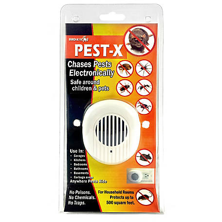 Bird-X Pest-X Pest Repeller for Rodents and Insects