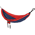 Castaway Single Travel Hammock, Red/Navy