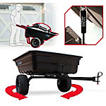 OxCart 12-14 cu. ft. Lift-Assist and Swivel Dump Cart