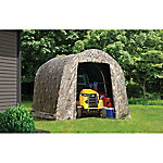 ShelterLogic 8 ft. x 8 ft. x 7 ft. Shed-in-a-Box Roundtop, Camo Truetimber