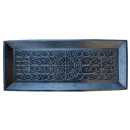 amerihome rubber boot tray at tractor supply co. Black Bedroom Furniture Sets. Home Design Ideas